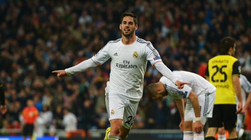 Isco has been in fine form during Gareth Bale's abscence