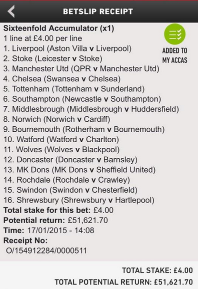 Weekend Football Coupon Tips