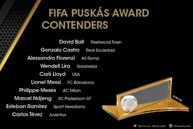 FIFA puskas Awards 2015