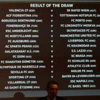 Euiropa League draw
