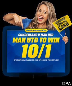 Sunderland vs manchester united betting preview new york lottery betting