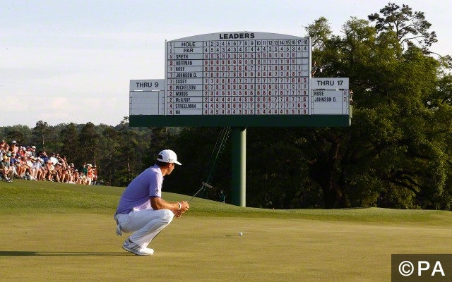 US Masters - Augusta