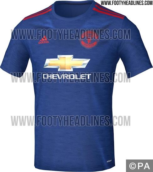 new Man United away kit