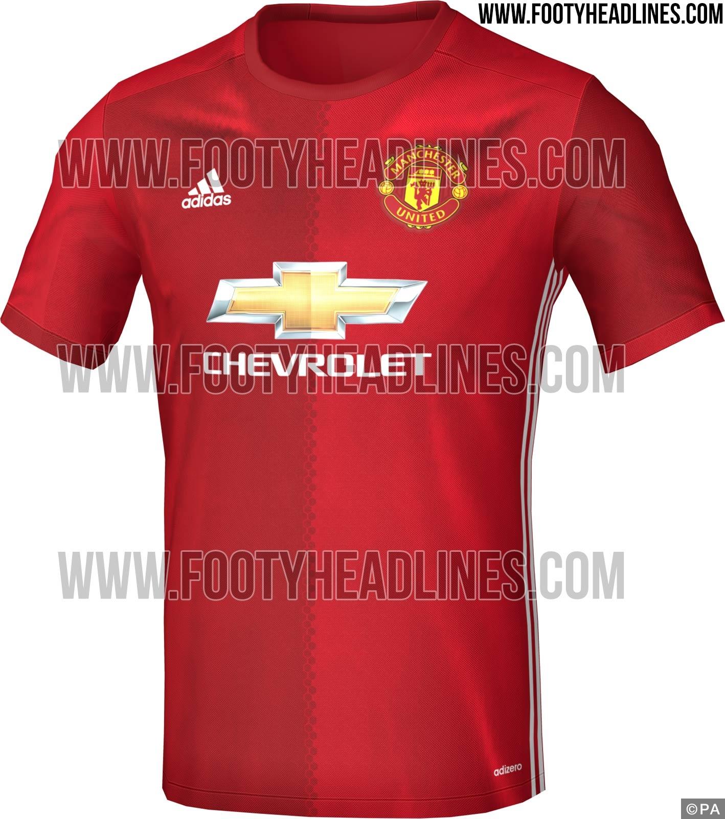 Man United 16-17 kit