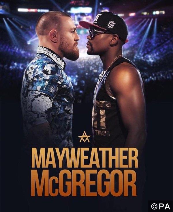 mayweather vs mcgregor fight