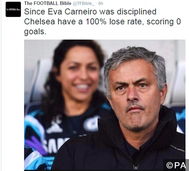 eva carneiro sacking