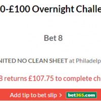 £10-£100 Overnight Challenge Lands
