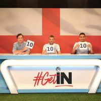 Englands #getin campaign