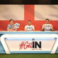 Englands #getin campaign