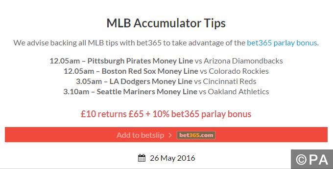 winning mlb picks