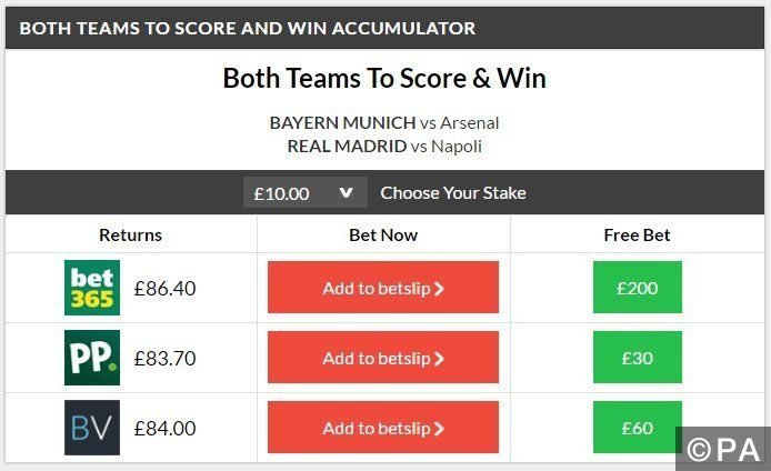 Btts and Win double winner