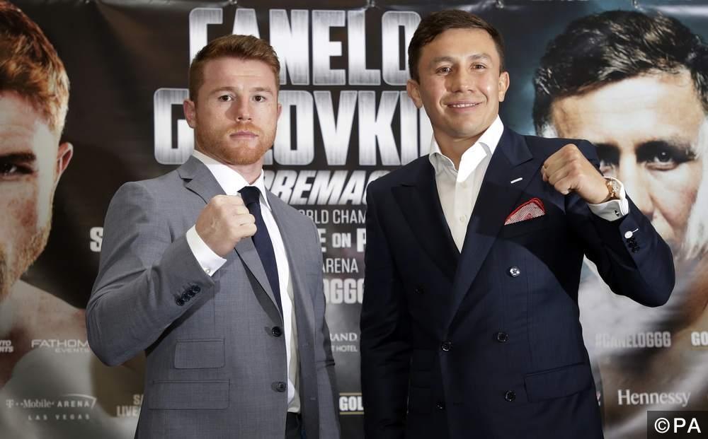 Gennady Golovkin & Canelo Alvarez
