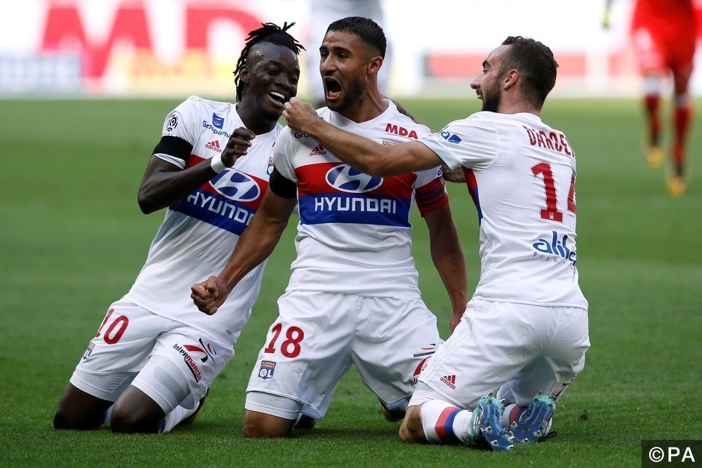 Kết quả hình ảnh cho Lyon vs Amiens