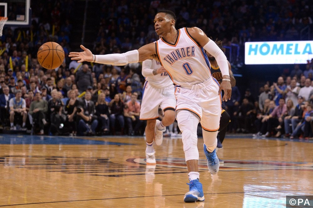 NBA: Cleveland Cavaliers at Oklahoma City Thunder