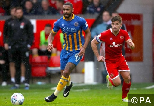 League One - Fleetwood v Shrewsbury