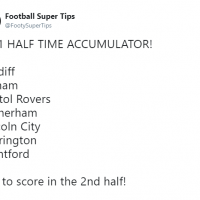 16/1 Half-Time Acca