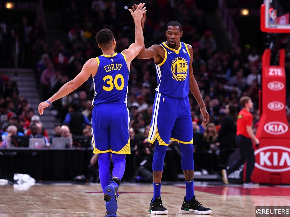 NBA - Golden State Warriors - Stephen Curry, Kevin Durant