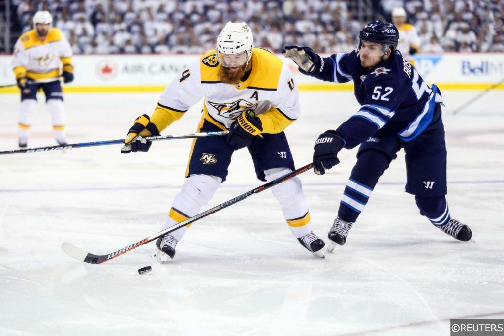 NHL Winnipeg Jets vs Nashville Predators 2018