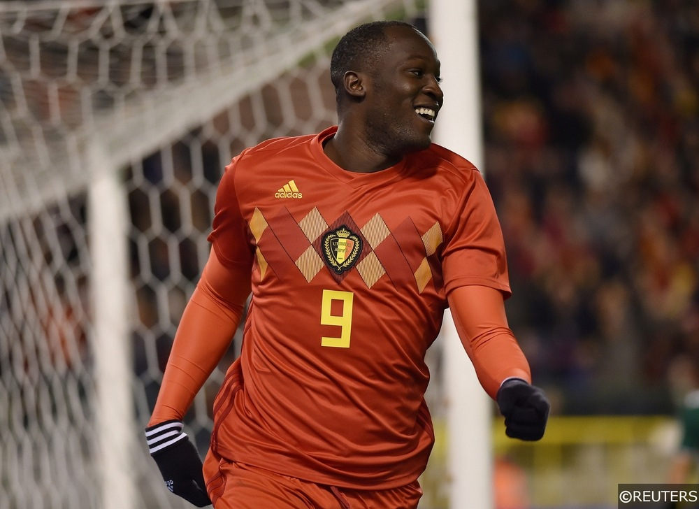 Lukaku is in excellent form for Belgium ahead of the World Cup