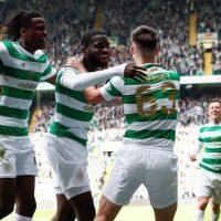 Celtic in Scottish Premiership action