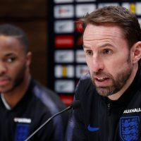 Gareth Southgate & Raheem Sterling England World Cup 2018
