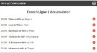 18/1 French Ligue 1 Acca Lands!