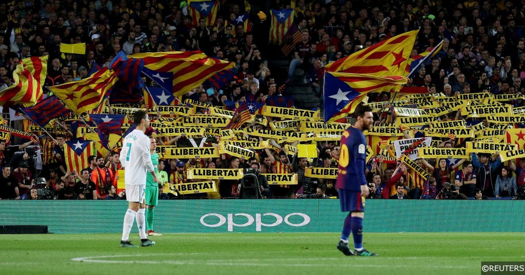 La Liga - Barca vs Real Madrid - Messi