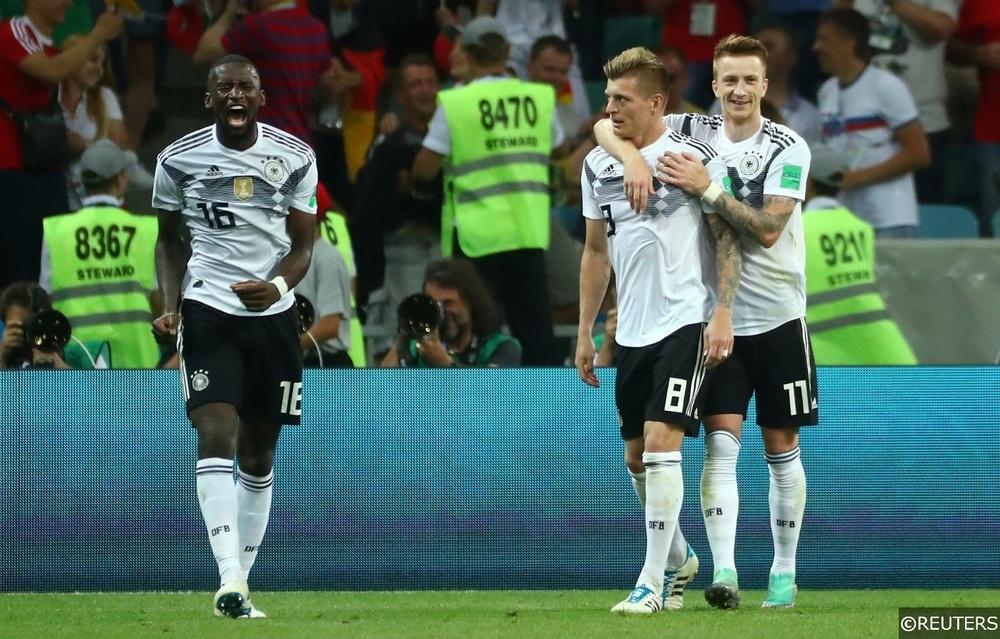Kedua tim mencetak skor di Jerman vs Rusia 6/5 untuk minggu ini international friendly