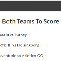 6/1 Both Teams to Score Acca Lands