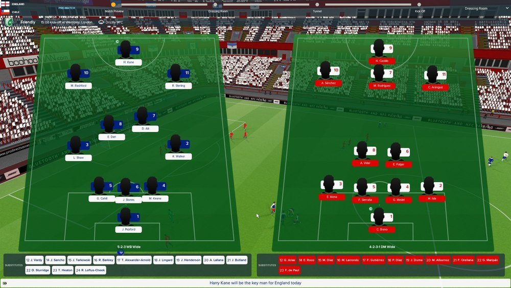England World Cup football manager