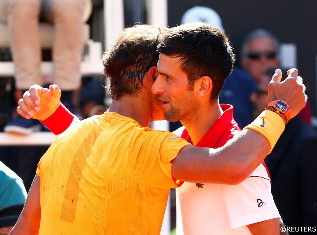 Rafael Nadal Novak Djokovic - Tennis
