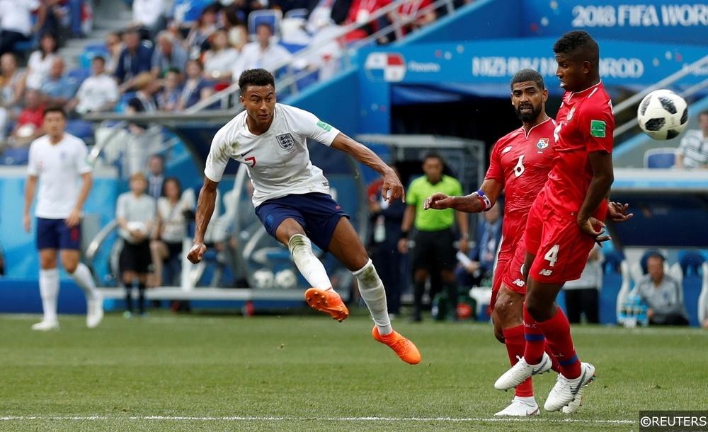 Jesse Lingard World Cup debut for