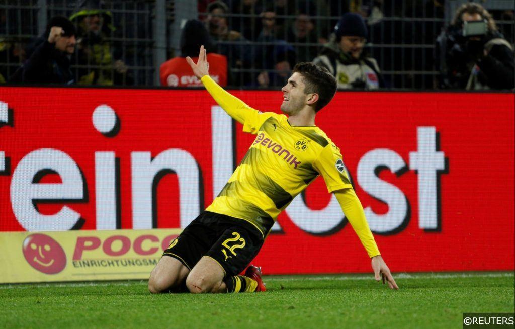 Borussia Dortmund Christian Pulisic