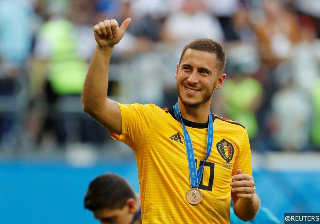 Eden Hazard Belgium England World Cup 2018