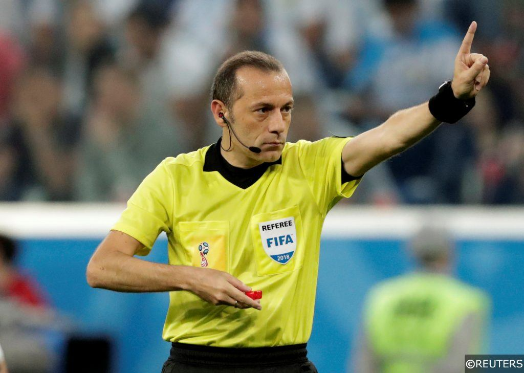 Cuneyt Cakir at the 2018 World Cup