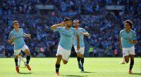 Manchester City Sergio Aguero Leroy Sane Bernardo Silva