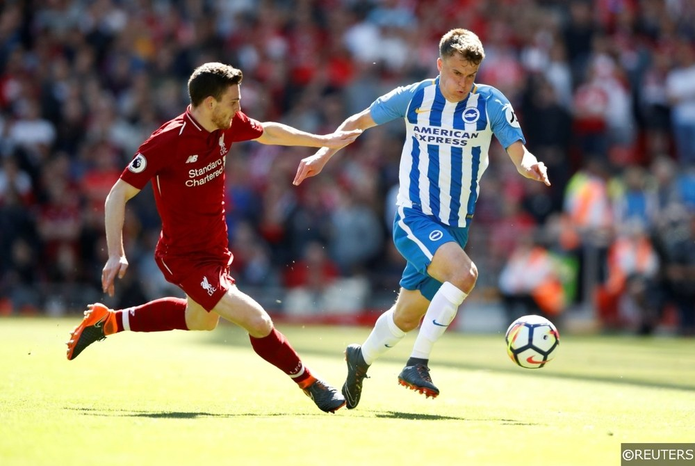 Liverpool Andrew Robertson vs Brighton Solly March