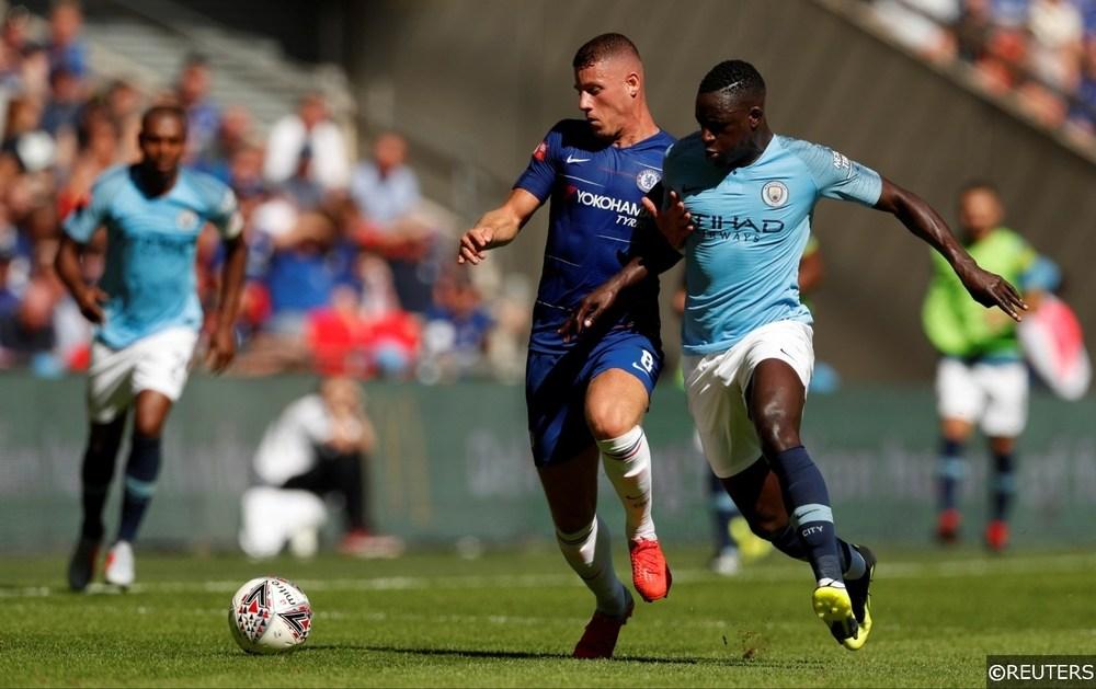 Chelsea Ross Barkley Manchester City Benjamin Mendy