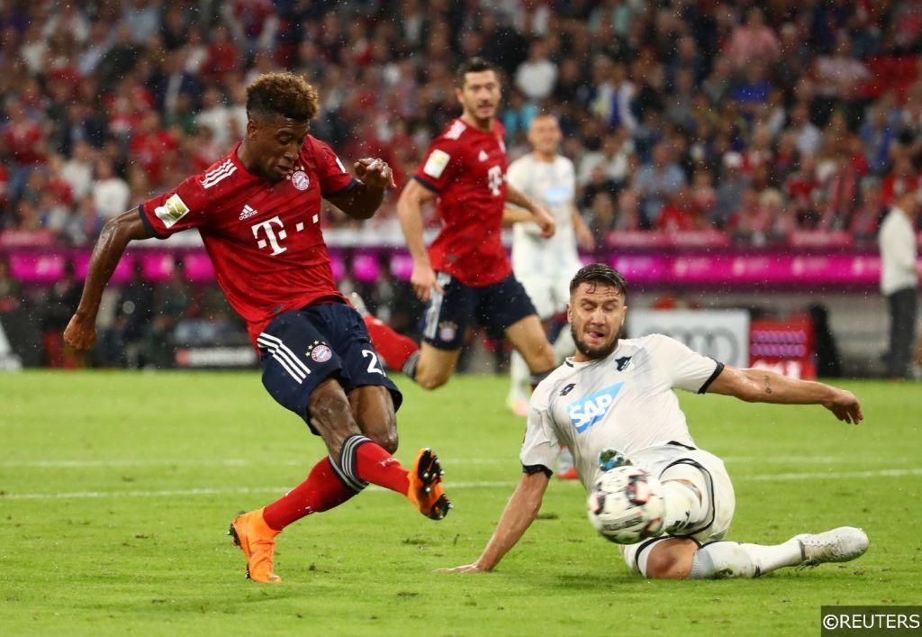 Bundesliga Bayern Kingsley Coman TSG Hoffenheim