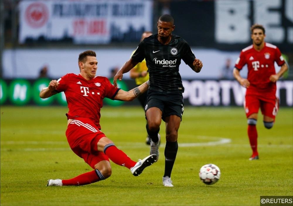 Eintracht Frankfurt Haller Bayern Munich Sule
