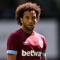 Felipe Anderson in action for West Ham