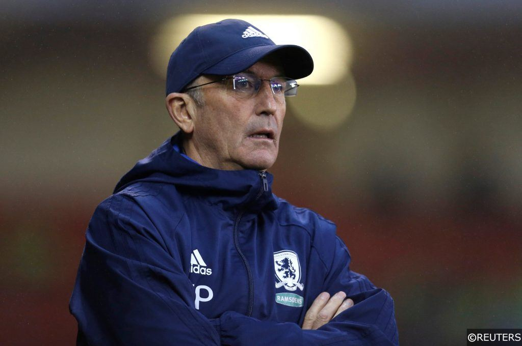 Next Middlesbrough Manager Betting Odds and 14/1 Prediction