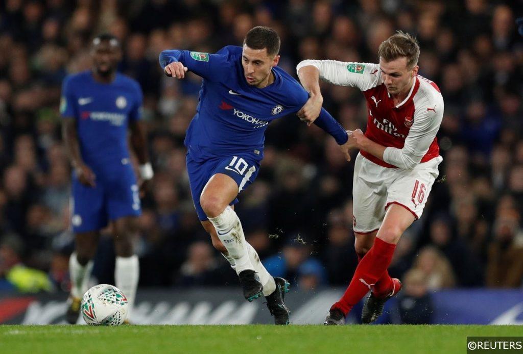 Premier League Chelsea Arsenal Hazard Holding