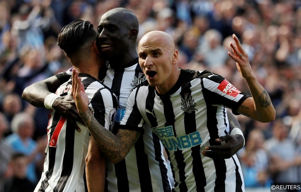 Premier League Newcastle Shelvey Perez