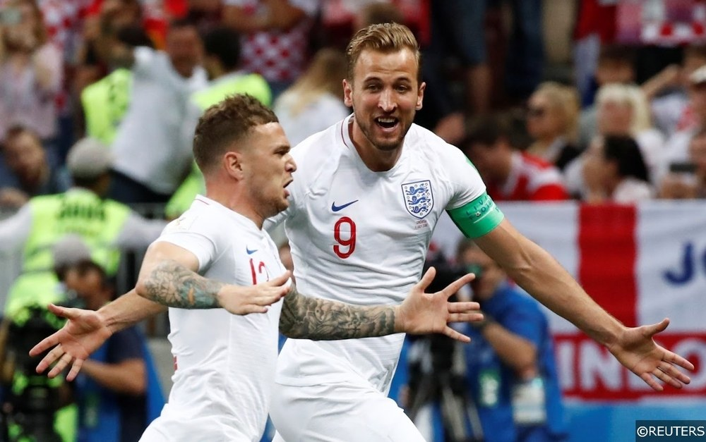 World Cup England Kane Trippier