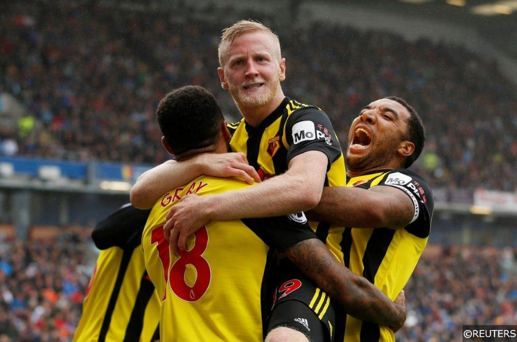 Premier League Watford Hughes Deeney Gray