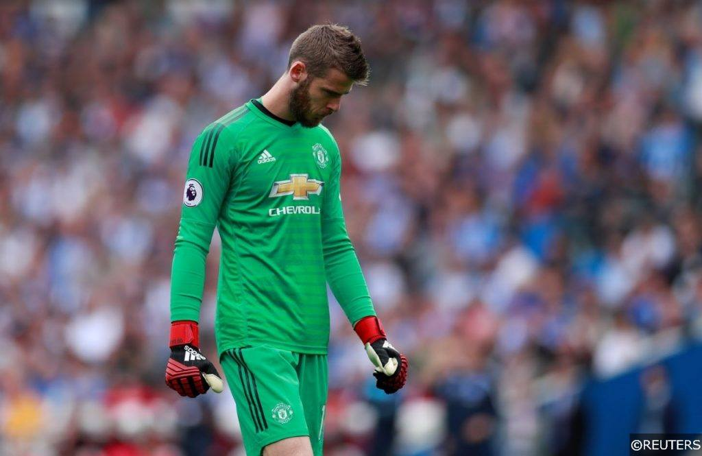 Manchester United Sad David de Gea