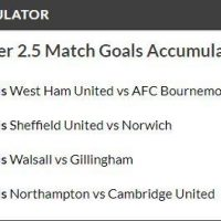 16/1 Match Goals Acca Lands!
