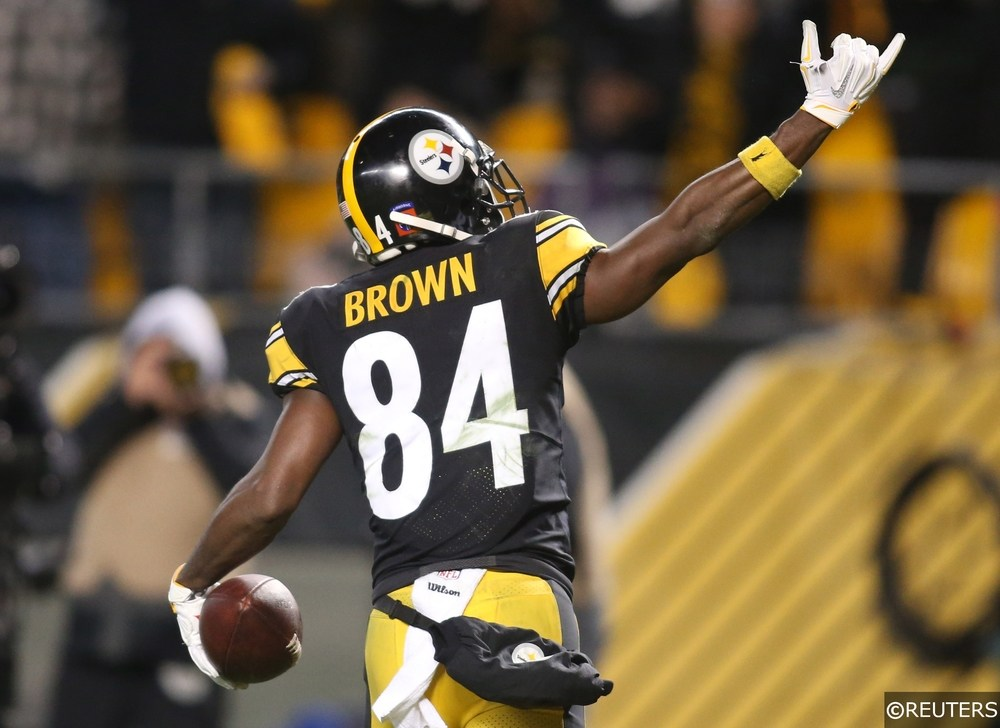 NFL - Pittsburgh Steelers - Antonio Brown