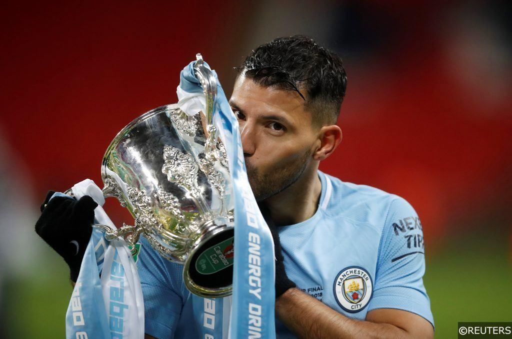 Carabao Cup - Manchester City - Aguero